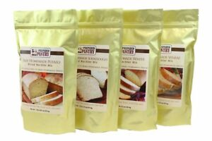 4 Mixes Easy Homemade Bread Machine Mix Collection For Oven Also