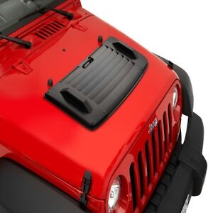 Bestop Black Hood Applique For 2007 2013 Jeep Wrangler Wrangler Unlimited