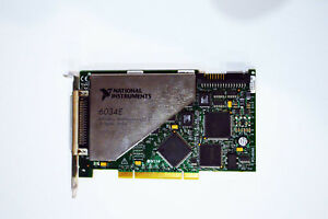National Instruments Ni Pci 6034e Ni Daq Card 16 Bit Analog Input Multifunc