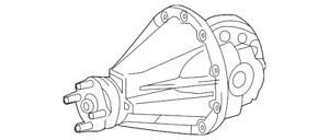 Genuine Toyota Differential Carrier 41110 04130
