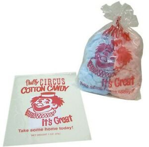 Gold Medal Plastic Cotton Candy Bags 1000 Favor Gift Bulk Treat Party Large Best
