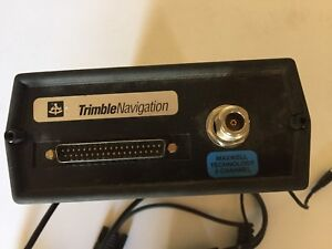 Trimble 22850 10 Pathfinder E2 8 Channel Gps Receiver With Cables Shown Only