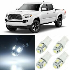 11 X White Interior Led Lights Package For 2016 2017 2018 2019 Toyota Tacoma