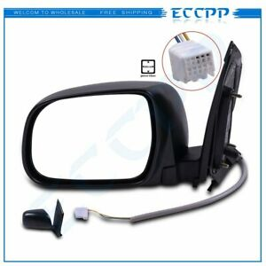 Power Side View Mirror Manual Folding Driver Left Lh For 2004 2010 Toyota Sienna