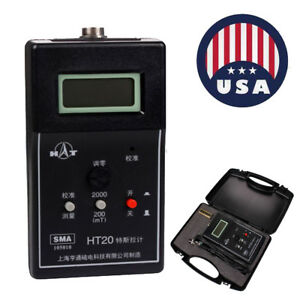 0 1mt Dc Static Tesla Gauss Meter Fluxmeter Surface Magnetic Field Tester Us