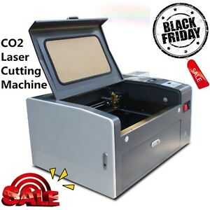 50w Co2 Laser Engraving Cutting Machine Engraver 300x 500mm With Rotary Ce Fda