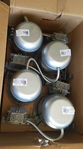 Lot Of 8 Lights 6 Phillips Lightolier Recessed Cans Can Ql6nbqp Construction