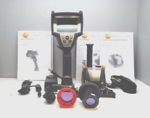 Testo 881 3 Thermal Imager Thermal Camera With Case Spare Lens And Battery