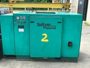 60hp Air Compressor Sullivan Palatek