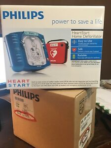 Philips Heartstart Home Defibrillator New And Factory Sealed