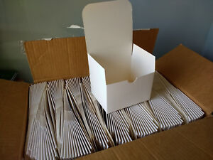 Box Of 155 Foldable Cardboard Boxes 5 1 2 X 4 1 8 X 3 7 8