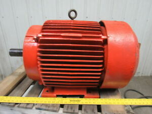 Reliance 60hp 1775rpm 3ph 460v 364t 2 3 8 Shaft Ac Motor