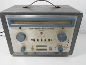Ge Marker Generator Wr 99a Crystal Calibrated Tubes Test Tester For Parts Only