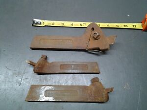 Lot Of 3 Armstrong Tool Holders