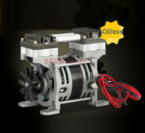 Quiet 80w Oilless Air Compressor 220v Air Pump 0 19mpa Max Pressure 28l min