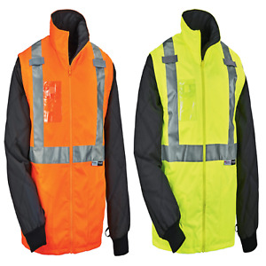 Ergodyne Glowear 8287 High Visibility Reflective Convertible Thermal Vest jacket