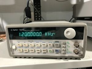 Agilent Formerly Hp 33120a 15mhz Function Arbitrary Waveform Generator Awg