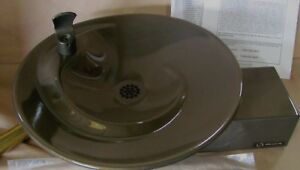 Haws 1001 Barrier Free Wall Mount Drinking Fountain Brown
