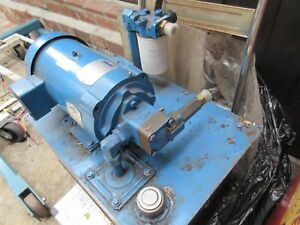 Vickers Eaton 20 Gal Hydraulic Power Unit New old