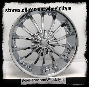 20 Inch Chrome Vct V63 Mancini Wheels Fits Cadillac Ats Cts Dts Sts 5x115 5x120