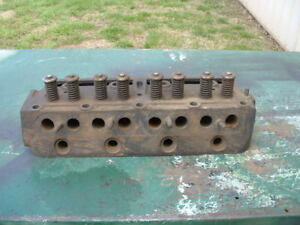 Ih Farmall F 14 F 12 Cylinder Head With Valves And Springs