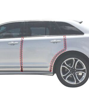 2007 14 Fits Ford Edge 4pc Invisible Door Edge Guards Pre Cut Custom Fit Clear