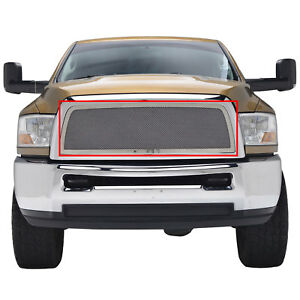 2010 2011 2012 Dodge Ram 2500 3500 Grille Chrome Ss Mesh Grille Grill Insert