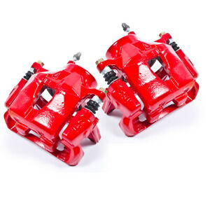 Front Red Brake Calipers For 2005 2010 Scion Tc 2000 2005 Toyota Celica