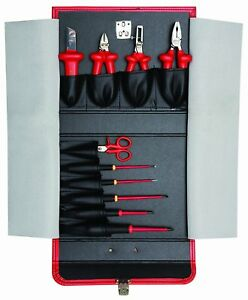 Bahco 3045v 1 1000 Volt 10 Piece Insulated Tool Set Free Shipping Us Seller