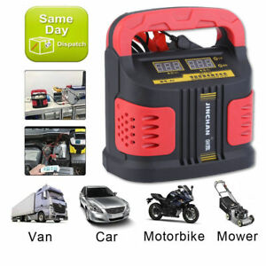 Battery Charger Auto Jump Starter Booster Portable Power Pack Car