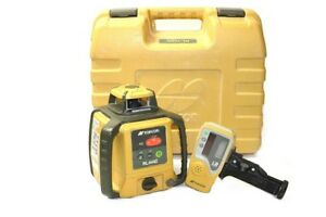 Topcon Rl h4c Rotary Laser With Ls 80l Laser Receiver