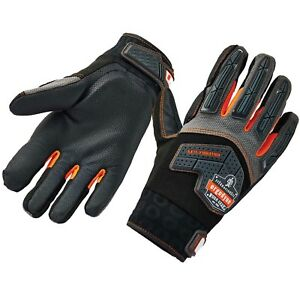 Ergodyne 9015f x Certified Anti vibration Work Gloves With Back Hand Protection