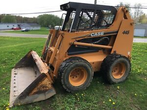 Case 445 Skid Steer Low Hours Work Ready