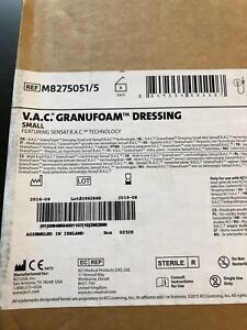 Lot Of 5 Kci Vac Granufoam Dressing Small Wound Ref 8275051 5 New Exps 2019 08