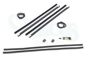 Ford Model A Rear Quarter Window Channel Kit 1928 31 Tudor Sedan