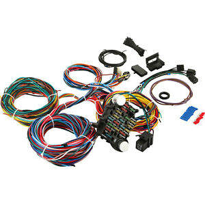 21 Circuit Wiring Harness Fit Chevy Universal Hotrods Install Wires