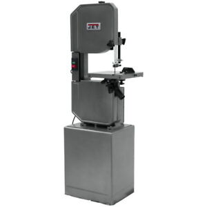 Jet 414502 J 8201vs 14 Metal wood Vertical Variable Speed Bandsaw