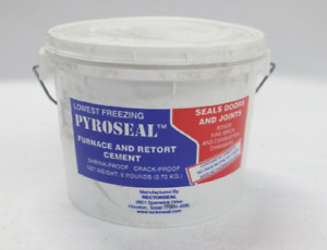 Lot Of 8 Rectorseal 68616 6 pound Pyroseal Furnace And Retort Cement