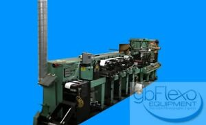Rotopress Nilpeter Model Fb 2500 4 Color 10