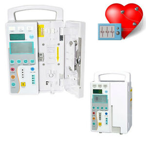 Medical Infusion Pump Audible And Visual Alarm Iv Fluid Infusion Pump With Voice