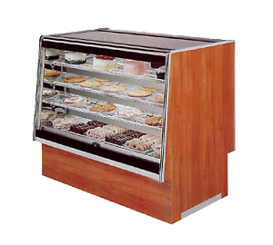 Marc Refrigeration Sqbcd 48 Display Case Non refrigerated Bakery