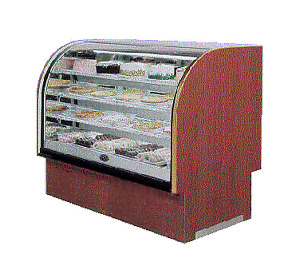 Marc Refrigeration Lubcd 48 Display Case Non refrigerated Bakery