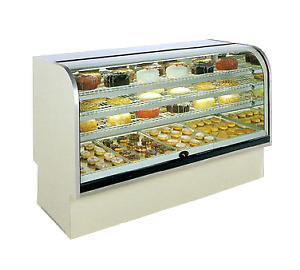 Marc Refrigeration Bcd 48 Display Case Non refrigerated Bakery