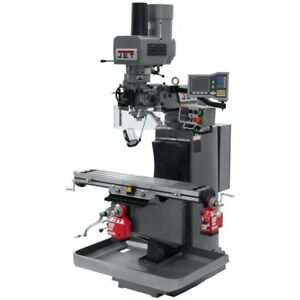 Jet 690513 Jtm 949evs Mill 3 axis Acu rite Vue Dro Xy axis Pwrfd