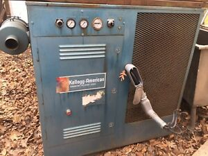 Kellogg Americanrotary Screw Air Compressor Krs 40