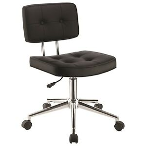 Scott Living Armless Modern Office Chair By Coaster 801289