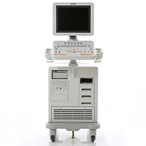 Philips Hd7 xe Ultrasound System For Cardiac Vascular Shared Service