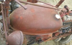 Ih Farmall M Sm Mta Used Dent Free Gas Tank Antique Tractor