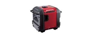 New Honda Eu3000is Generator 3000 Watt Portable Quiet Inverter see Ship Time