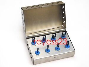 Dental Implant Trephine Drills Kit Titanium Blue Coating New Style